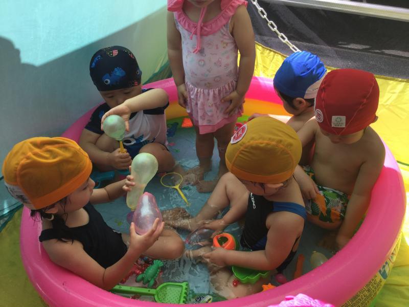 水ふうせん«大阪市西区新町、幼児教室一体型保育園»