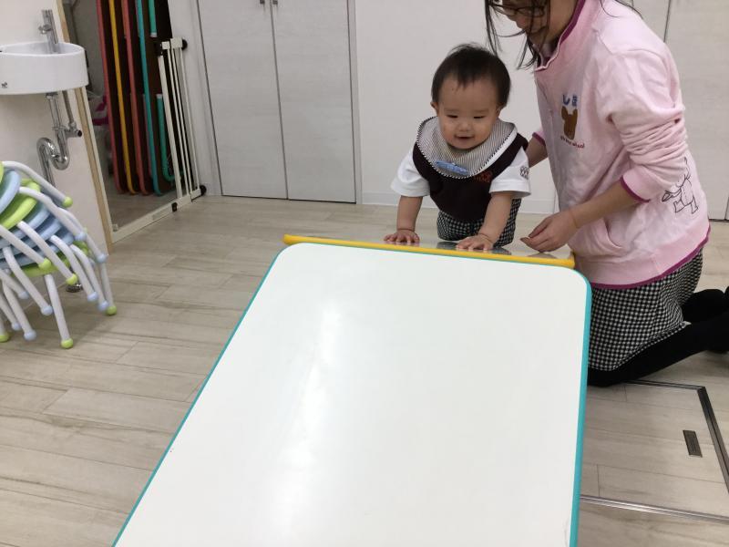 リトミックをしました♬《大阪市西区、新町にある幼児教室一体型保育園》