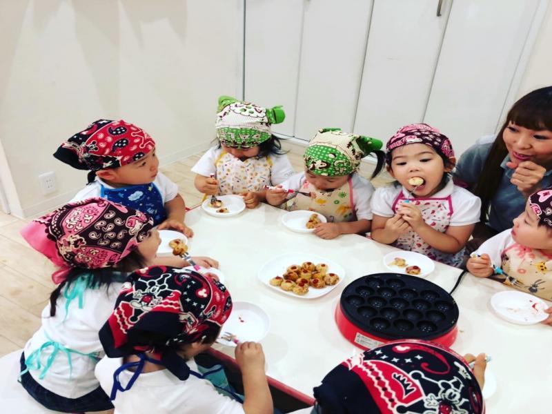 当面のクッキングについて☆《大阪市西区、新町にある幼児教室一体型保育園HUGアカデミー》