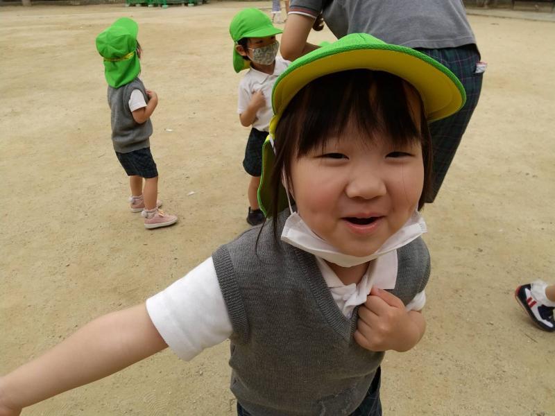 お外遊びへ行きました!《大阪市西区、新町にある幼児教室一体型保育園 HUGアカデミー》