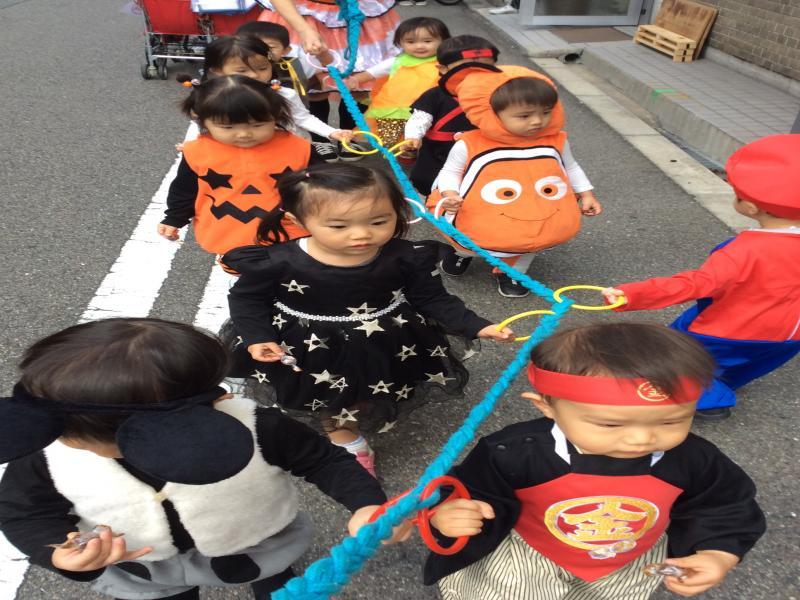 Happy Halloween!!! 《大阪市西区、新町にある幼児教育一体型保育園HUGアカデミー》
