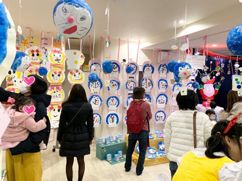 ドラえもん製作展!! 《大阪市西区、新町にある幼児教育一体型保育園HUGアカデミー》