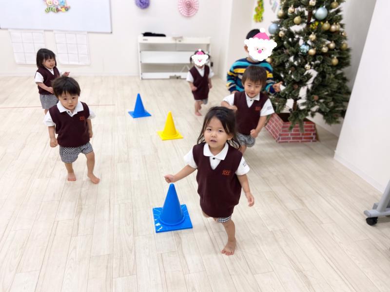 月曜日カリキュラムは体操です!《大阪市西区、新町にある幼児教育一体型保育園HUGアカデミー》しました!