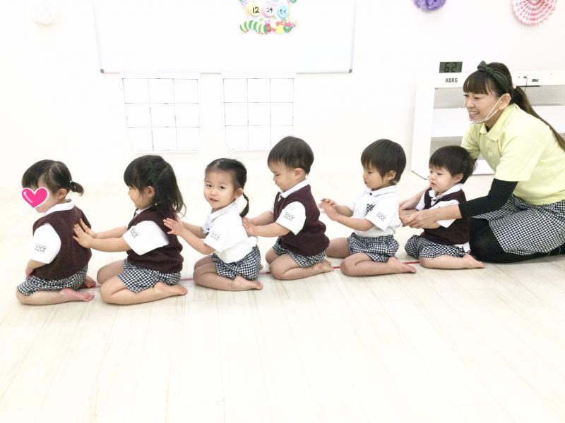 木曜日のカリキュラムはリトミックです《大阪市西区、新町にある幼児教室一体型保育園》