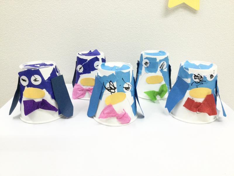水曜日のカリキュラムはクラフトです。《大阪市西区、新町にある幼児教室一体型保育園》
