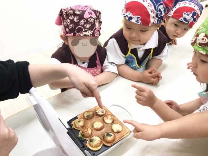 Let's クッキング!!《大阪市西区、新町にある幼児教育一体型保育園HUGアカデミー》