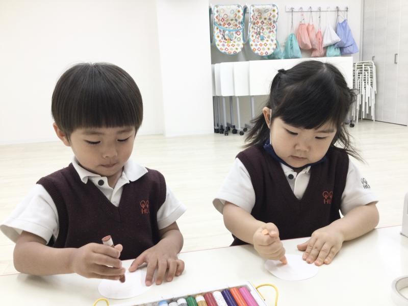 水曜日のカリキュラムはクラフトです!《大阪市西区、新町にある幼児教室一体型保育園》でき