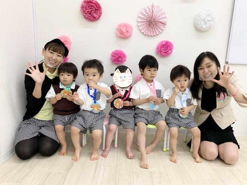 入園・進級式! 《大阪市西区、新町にある幼児教育一体型保育園HUGアカデミー》