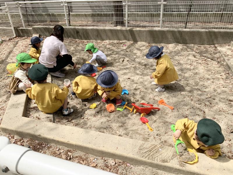 慣らし保育week! 《大阪市西区、新町にある幼児教育一体型保育園HUGアカデミー》
