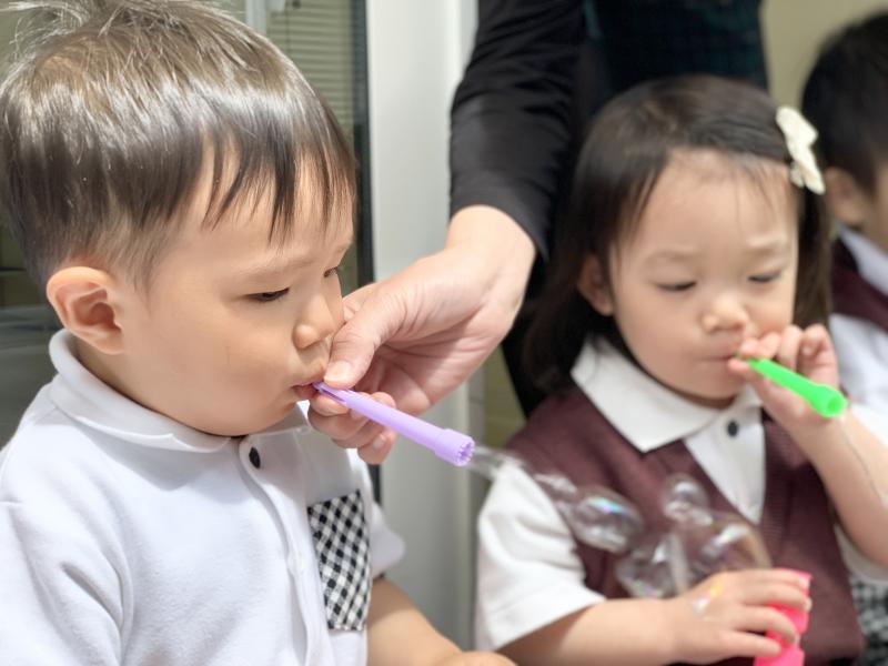 月曜日カリキュラムは基礎学習です!《大阪市西区、新町にある幼児教育一体型保育園HUGアカデミー》