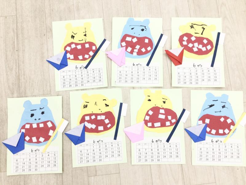 金曜日カリキュラムはクラフトです!《大阪市西区、新町にある幼児教育一体型保育園HUGアカデミー》