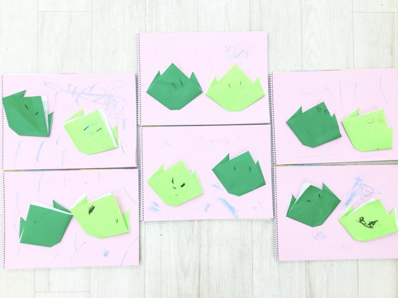 木曜日カリキュラムは 絵画です!《大阪市西区、新町にある幼児教育一体型保育園HUGアカデミー》