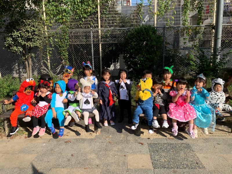 ハッピーハロウィン!《大阪市西区、新町にある幼児教室一体型保育園》