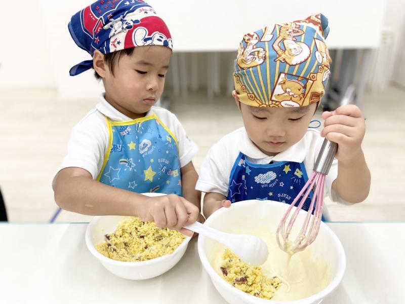 クッキング!《大阪市西区、新町にある幼児教育一体型保育園HUGアカデミー》