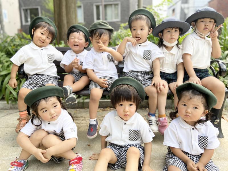 お散歩☆《大阪市西区、新町にある幼児教育一体型保育園HUGアカデミー》