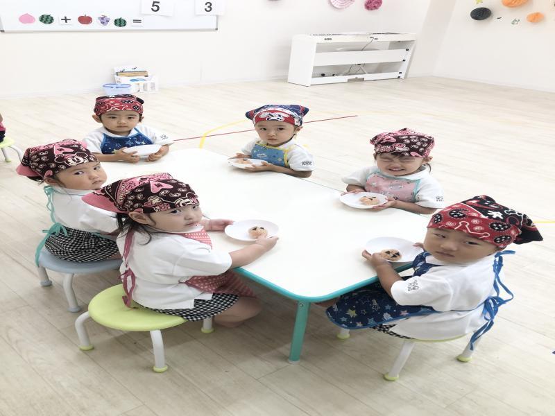 ♪おにぎりアクション♪《大阪市西区、新町にある幼児教室一体型保育園》