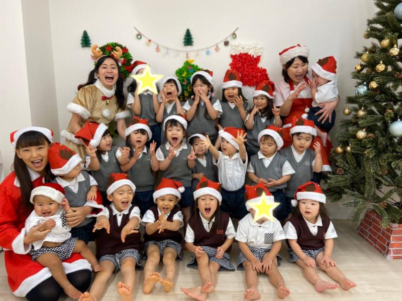 Merry Christmas✩.*˚《大阪市西区新町、幼児教室一体型保育園》